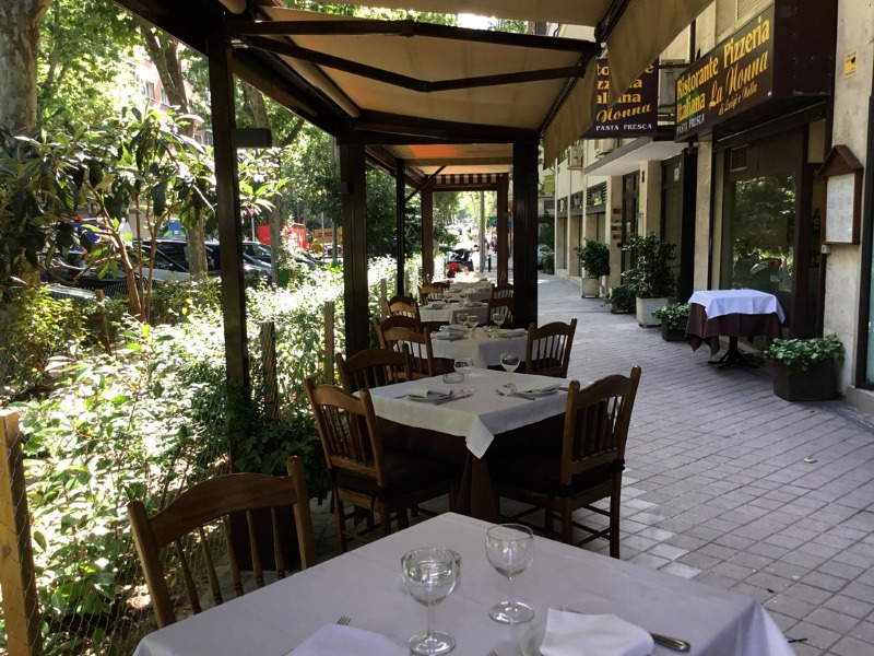 Restaurante italiano la nonna di luigi e nella en Madrid